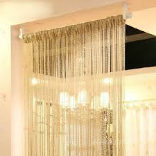 Door Curtain Panels Walmart | Red String Curtains | String Curtains
