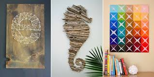 16 Spectacular Diy Wall Art Projects That Will Beautify Your Home with diy  wall art with regard to Cozy