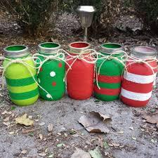 view in gallery red green handpainted mason jars jpg