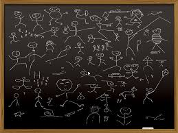 Teaching Powerpoint Backgrounds Black Board Design Powerpoint Templates Black Education