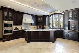 kitchens with dark cabinets and tile floors. Interesting With White Kitchen Cabinets Tile Floor Off With   On Kitchens With Dark Cabinets And Tile Floors W