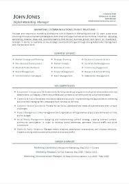 communications resume samples marketing communications resume samples marketing communications