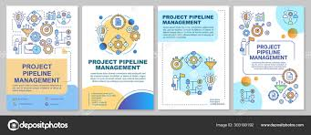 Project Pipeline Management Brochure Template Layout Flyer