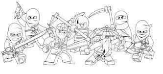 Lego Ninjago Coloring Pages Nocl Free Printable Ninjago Coloring