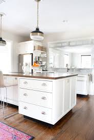 Add Drawers To Kitchen Cabinets How To Add Detail To A Plain Kitchen Island The Chronicles Of Home