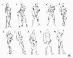 Human Proportions Chart Jacqsrefsandthings Human Proportion Male Poses Chart By