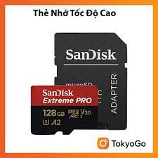 Thẻ nhớ MicroSD tốc độ cao cho Flycam