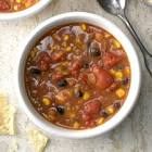 beefy refried bean soup