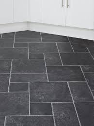 slate effect cushioned vinyl flooring