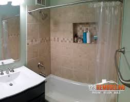 Master Bathroom Remodel At 40 W Irving Park Rd In Lakeview Extraordinary Chicago Bathroom Remodel