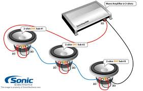 subwoofer wiring diagram sonic electronix wiring diagrams sonic electronix wiring diagram nilza