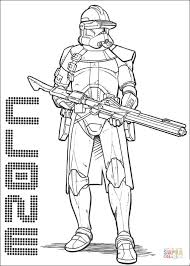 Small Picture Clone Commander Cody coloring page Free Printable Coloring Pages