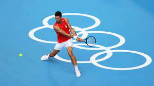 Olympic favourite Novak Djokovic ...