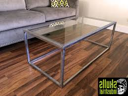 Industrial Glass Coffee Table Astonishing Small Square Coffee Table Witchmom Large Version