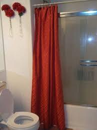 shower door treatment shower curtain to cover up ugly glass shower doors rain x shower door