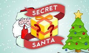 Image result for secret santa clipart