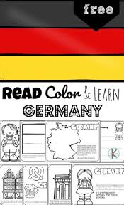 Beautiful coloring pages for kids. Free Read Color And Learn About Germany