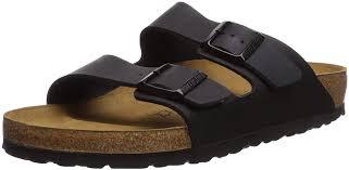 birkenstock arizona women s black birko flor sandal 42 women s us size