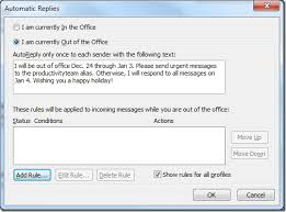 Automatic Respond Writing A Good Out Of Office Message And How To Set It The