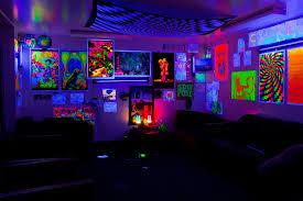 Remarkable Black Light Room Decorating Ideas 14 With Additional Black Light  Room Ideas