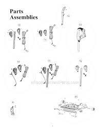oreck xl2100rh parts list and diagram ereplacementparts com click to expand