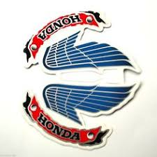 vintage honda motorcycle logo. Honda Wing Logo Vintage New Wings Style On Motorcycle