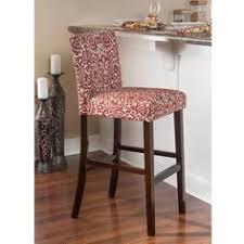linon marrakesh bar stool lava