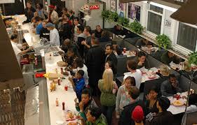 busy restaurant scene. Busy Restaurant Scene A