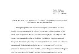 american essay quiet american essay
