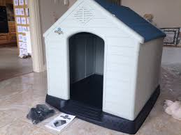 dog kennel extra large waterproof plastic outdoor winter house