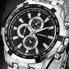 <b>Curren 8023</b> fashion <b>men</b> style watch waterproof decorative three ...
