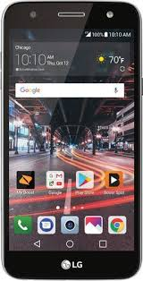 lg x charge. boost mobile - lg x charge 4g lte with 16gb memory prepaid cell phone titanium lg