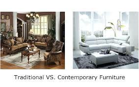 Modern Traditional Furniture Vs Contemporary  Design Tiefentanz.me