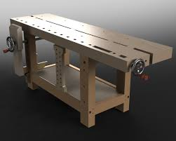 FINISHED The Split Top Hybrid Roubo U2013 The Fameless WoodworkerRoubo Woodworking Bench