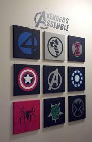 Good 10 Best Marvel Avengers Wall Decor Ideas
