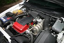 ford barra engine barra 245t in a bf falcon xr6t engine bay