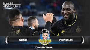 Highlights Napoli Vs Inter Milan Serie A Matchday 18 2019/20 ...