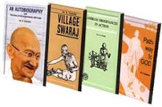 Books On & By Gandhi : Complete Books Online