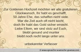 Glückwünsche Zur Goldenen Hochzeit Texte Gratulation Und Wünsche