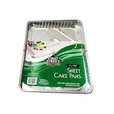 First Street 1 2 Sheet Cake Pan 2 ct from Smart & Final Instacart