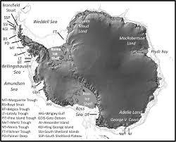 Hubbard Scientific Physiographic Chart Of The Seafloor Constraints On Antarctic Ice Sheet Configuration During And