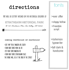 Directions Template Awesome Wedding Invitation Inserts Directions Templates