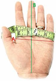 how to measure hand size for gloves size guide ho soccer