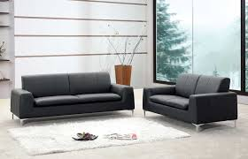 modern leather couches. Brilliant Modern Image Of Tribeca Modern Leather Sofa Set For Couches