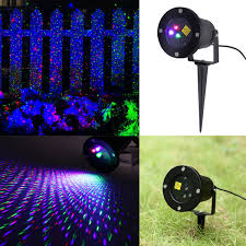 Outdoor Lighting Rgb Led Projector Garden House Lawn Xmas Party