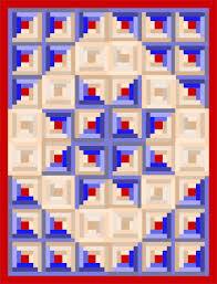quilting istant free pattern traditional log cabin block