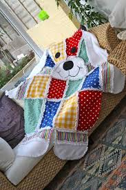 Teddy Bear Patchwork Quilt Is A Must Make | The WHOot & Big Dog Rag Quilt Adamdwight.com