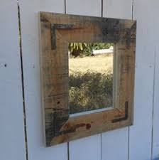 pallet furniture etsy. upcycled pallet mirror by freedomandfriends on etsy furniture f