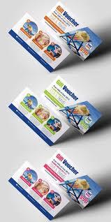 tour travel gift voucher wedding card templates