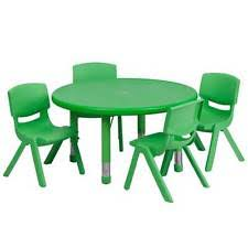 green plastic stack chairs. item 5 33\u0027\u0027 round adjustable green plastic activity table set with 4 kids stack chair -33\u0027\u0027 green plastic stack chairs